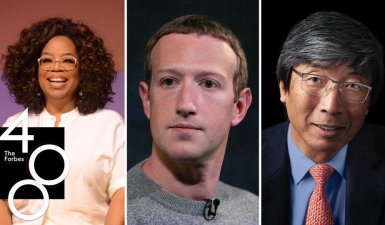 თვითშემდგარი უმდიდრესი ადამიანები Forbes-ის რეიტინგში