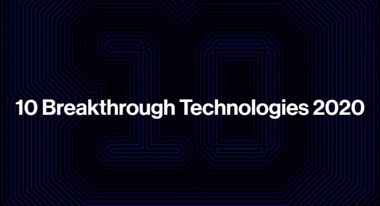 2020 წლის 10 გარღვევა ტექნოლოგიებში