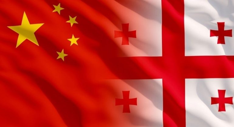 Georgian export to China is declining