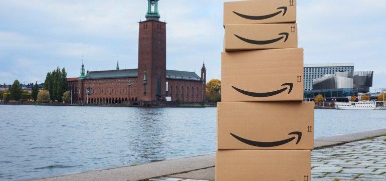 Amazon-მა შვედეთში პირველი მაღაზია გახსნა