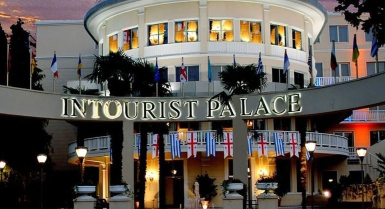 The Intourist Palace Hotel-Batumi - One of the Pioneers of `Spend Your Summer in Georgia` Campaign
