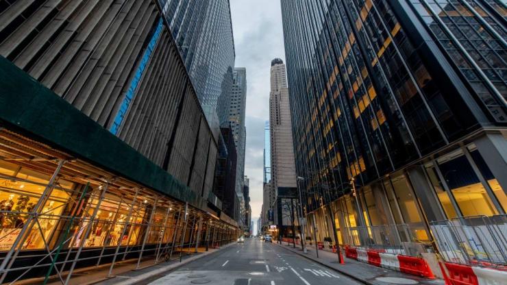 """ასე გამოიყურება პანდემიის გამო """"ჩაკეტილი"""" ქალაქები დაცარიელებული ქუჩებით"""