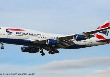 British Airways-ის ლაინერმა ნიუ-იორკიდან ლონდონამდე მანძილი რეკორდულ დროში დაფარა