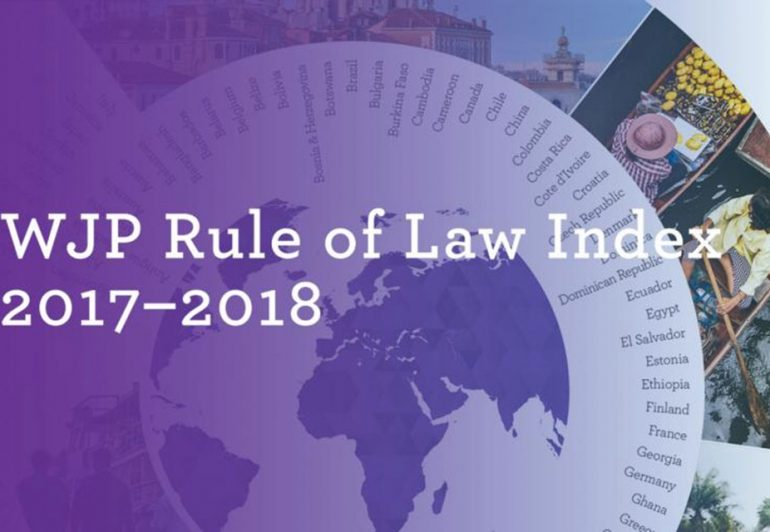 Georgia's Ranking In Rule Of Law Index Falling