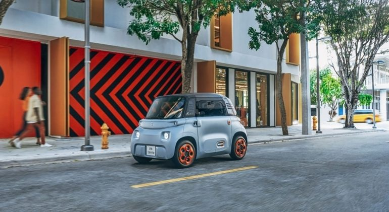 Citroën introduces a two-seat EV that costs €19.99 a month