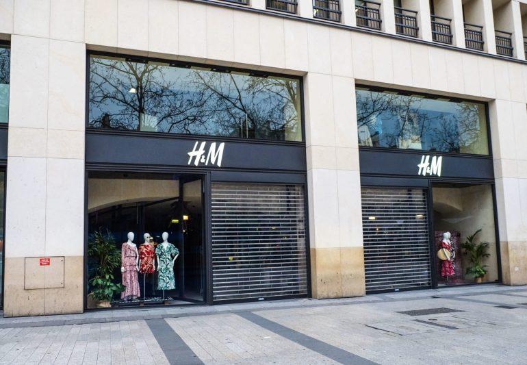 მსოფლიოს მასშტაბით H&M-ის 3 441 მაღაზია დახურულია