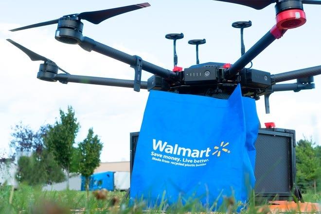 მიტანის სერვისი დრონებით – Walmart-ის ახალი წამოწყება