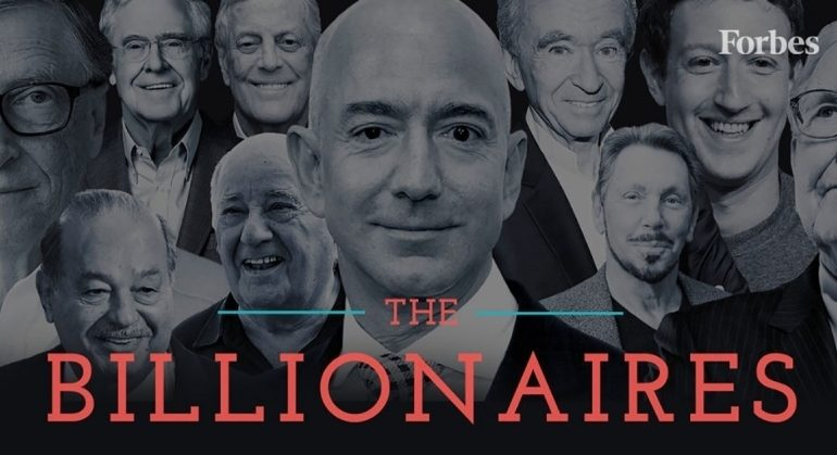 Last Week's Biggest Losers: From Bezos To Zuckerberg, These 10 Billionaires Lost $83 Billion As Markets Plummeted