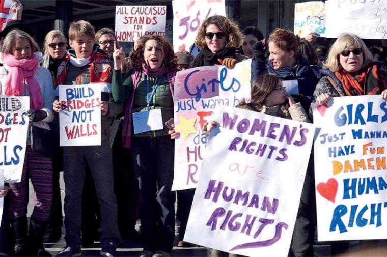 საუბარი თბილისში გამართულ ქალთა მარშის ორგანიზატორებთან