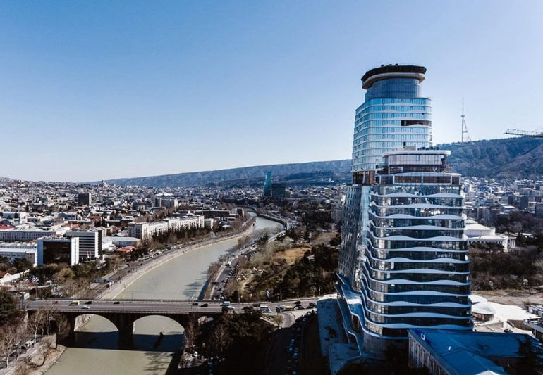 Large business centers in Tbilisi