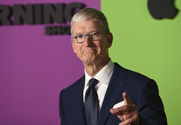 Apple-ის CEO მოხიბლულია დისტანციური მუშაობით