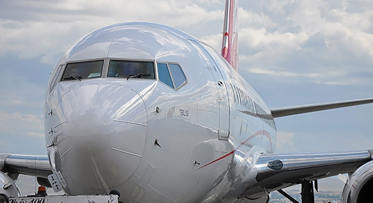 TOP 10 airline companies on the Georgian market
