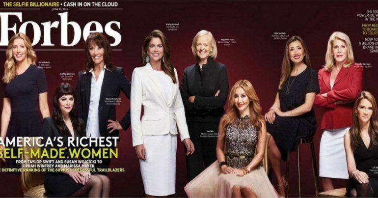 1917- 2017 წლებში Forbes-ის ფურცლებზე მოხვედრილი ქალები