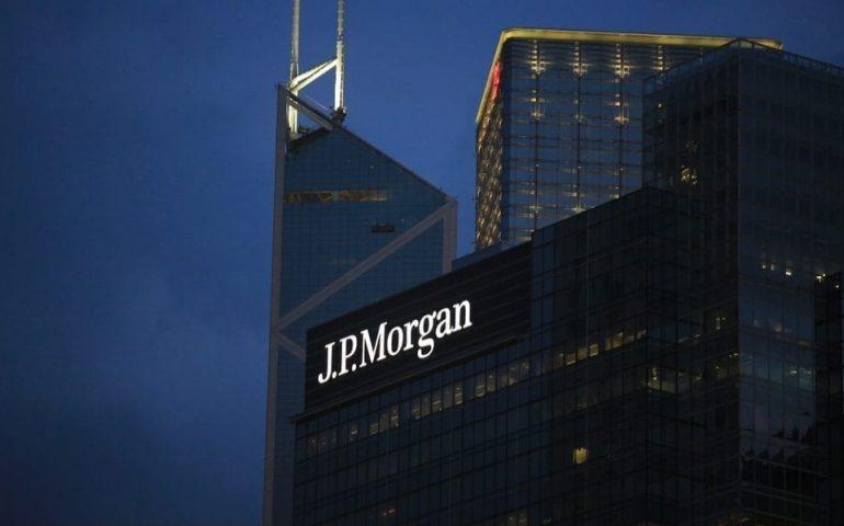 JPMorgan–ის შემოსავალი კორონავირუსის გამო 69%–ით დაეცა