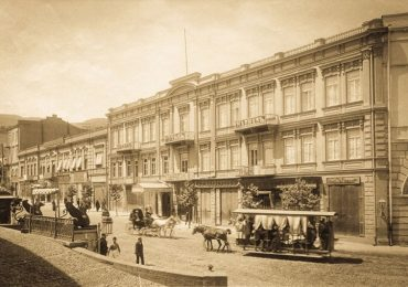 The First Hotels in Tiflis