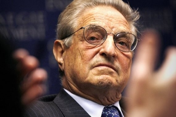 George Soros to Start $1 Billion School to Fight Nationalists, Climate Change