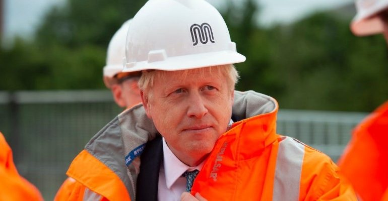 Boris Johnson is willing to build a bridge connecting Scotland with Northern Ireland