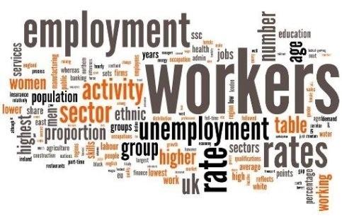 ეკონომიკის რომელ სექტორებში მცირდება/იზრდება დასაქმებულთა რაოდენობა