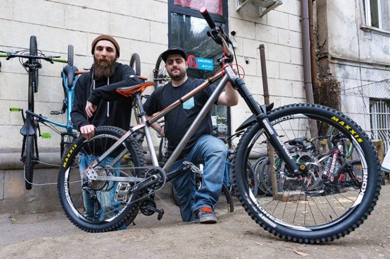 ახალი ველოსიპედის გამოგონება