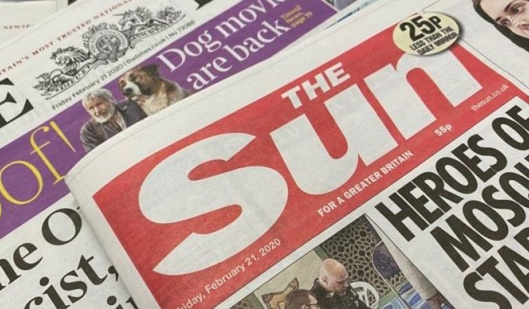 Suns owner reports £68m loss as paper sales fall