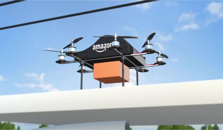 Amazon-მა მიმტანი დრონების გასაშვების ნებართვა მიიღო