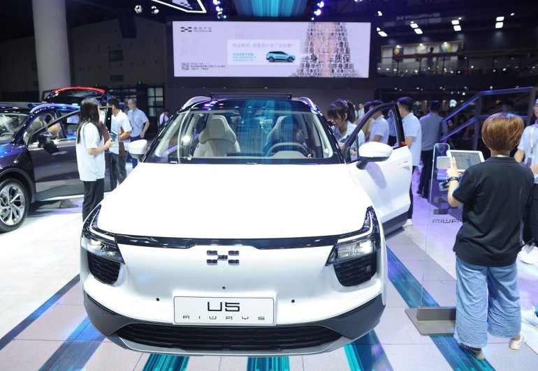 The first Chinese SUV in Europe's electric-car market