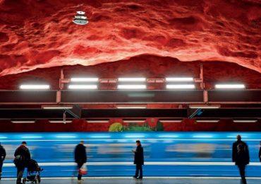 სტოკჰოლმის მეტრო - მსოფლიოში ყველაზე გრძელი ხელოვნების გალერეა