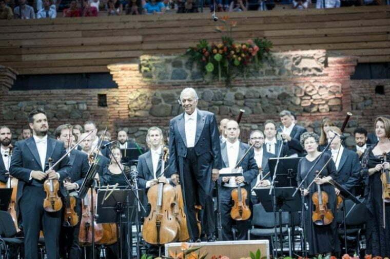 Tsinandali: Zubin Mehta Leads the IPO in an Enchanted Evening of Music in Georgia's Kakheti Region