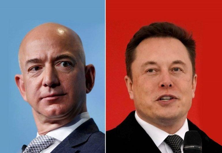 Elon Musk calls for 'break up' of Amazon