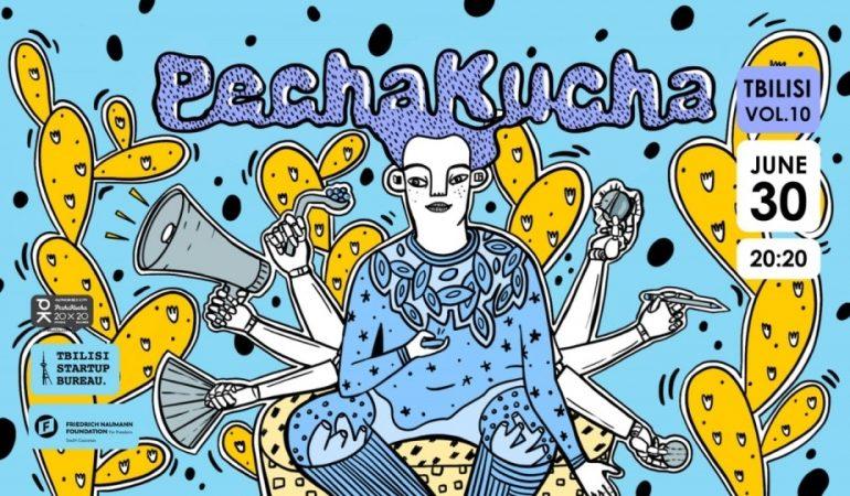 PechaKucha Night Tbilisi საინტერესო სიახლეებით ბრუნდება!