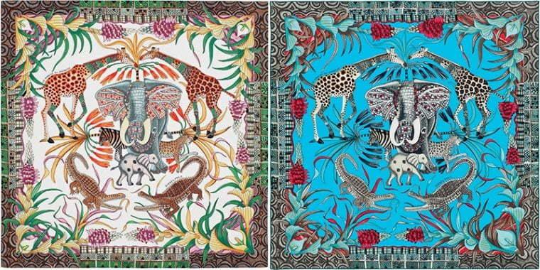 HERMÈS-ის კოლაბორაცია აფრიკელ მხატვრებთან