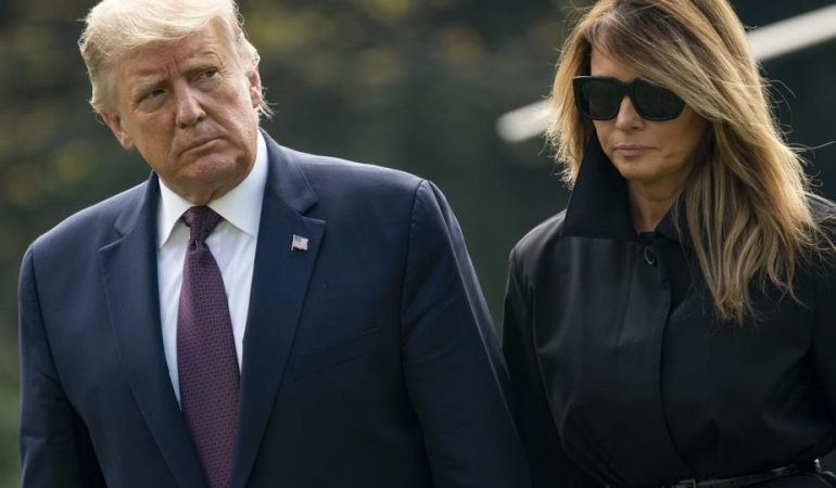 Trump, First Lady Test Positive For COVID-19