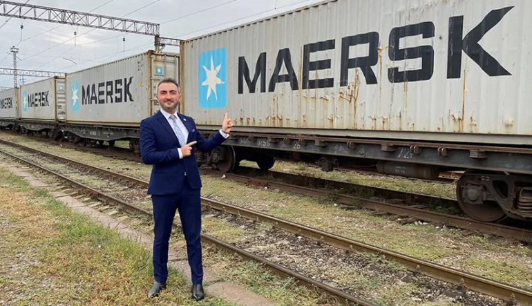 FIRST BLOCK TRAIN FROM CHINA ARRIVES IN GEORGIA - MAERSK