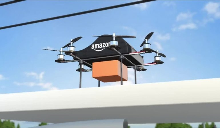 Amazon wins FAA approval for Prime Air drone delivery fleet