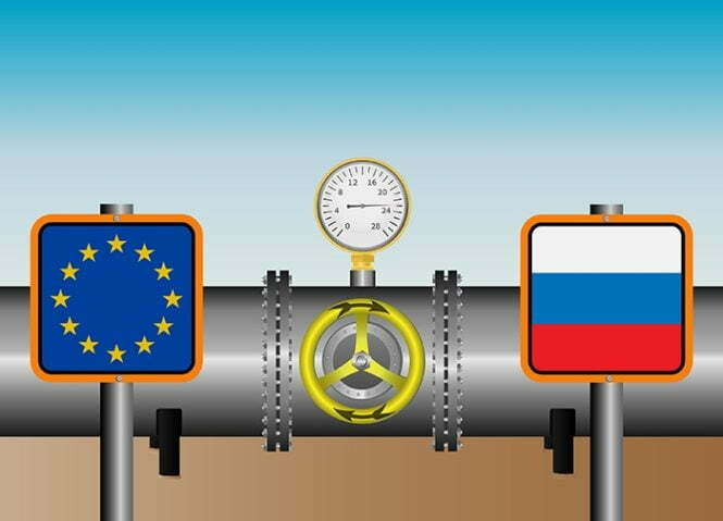 ევროკავშირის ქვეყნების რუსულ გაზზე დამოკიდებულების მაჩვენებლები