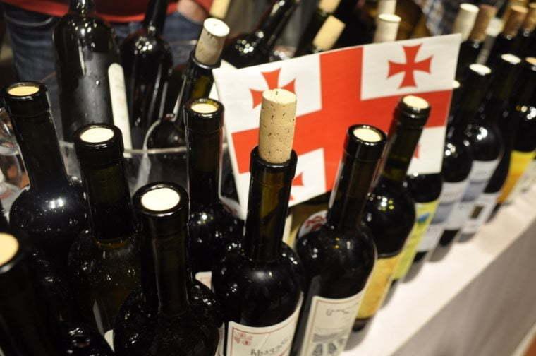 Most popular Georgian wines abroad
