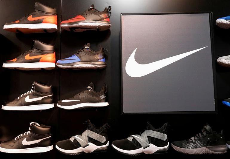 Nike beats profit estimates as online sales rise 82%; stock set for record high