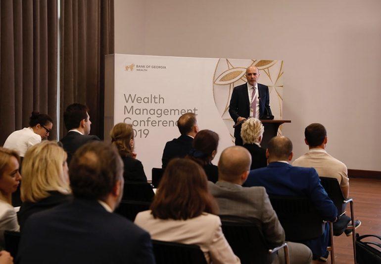 საქართველოს ბანკის ორგანიზებით საქართველოში საინვესტიციო შესაძლებლობების შესახებ კონფერენცია გაიმართა