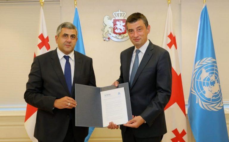 Georgia presents Zurab Pololikashvili's candidacy for renewal of UNWTO term