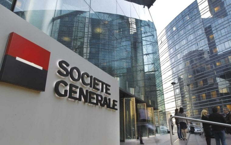 Societe Generale has sold its entire 5.3% equity stake in TBC Bank Group PLC