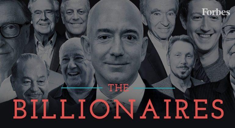 ქვეყნები ყველაზე მეტი ახალი მილიარდერით - Forbes-ის 2019 წლის სია
