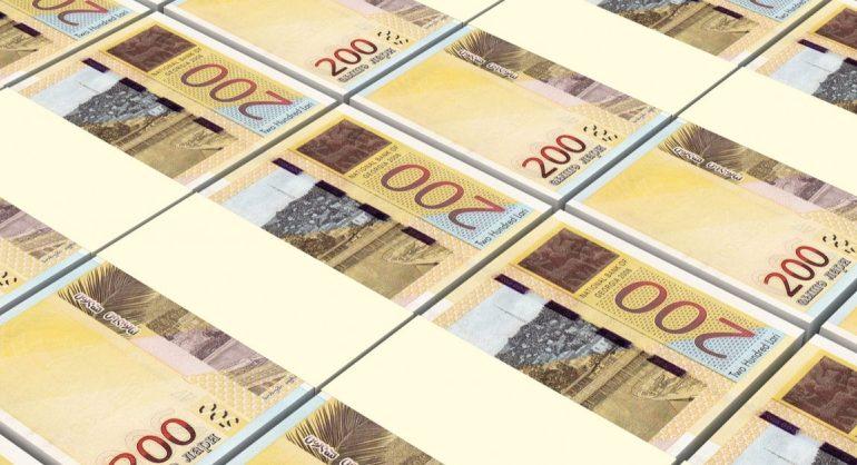 ეროვნული ბანკი: ლარის გაუფასურება შოკის მშთანთქმელის როლს ასრულებს