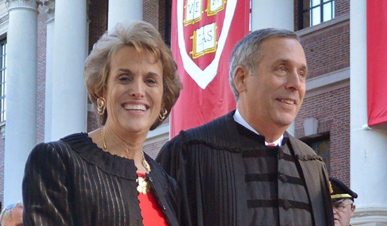 Harvard's president and his wife test positive for coronavirus