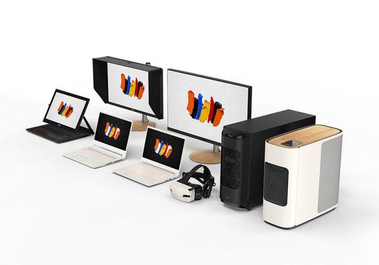Acer-ის ახალი ხაზი - სრულყოფილება შემოქმედებითი ადამიანებისთვის