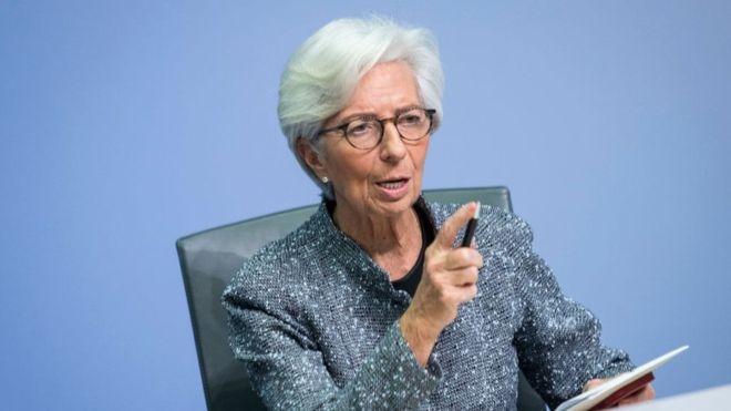 European Central Bank throws 750 billion euros at the economy to fight the coronavirus crash
