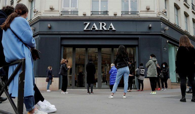 Zara-ს მფლობელმა კომპანია Inditex-მა მოგებაზე გასვლა შეძლო