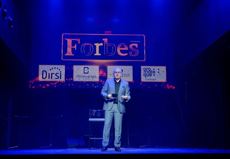 Forbes Georgia-ის ყოველწლიური დაჯილდოების გამარჯვებულები