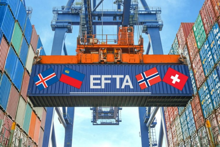 The Free Trade Agreement with EFTA has come into effect