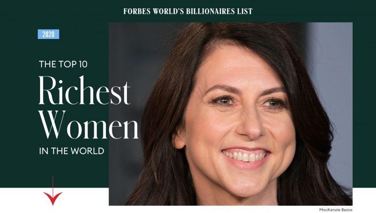 The top 10 richest women