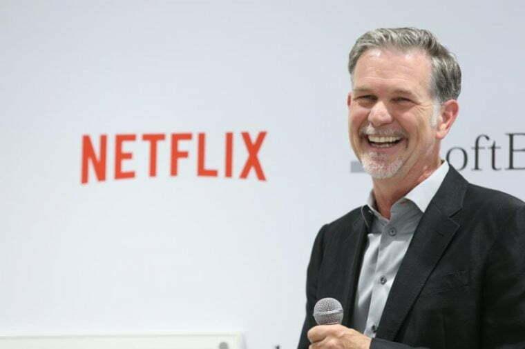 Netflix-ის დამფუძნებლის ქონება 2 კვირაში $400 მილიონით გაიზარდა